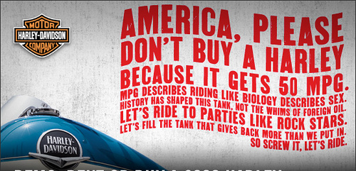 Don´t buy Harley Davidson